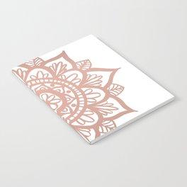 New Rose Gold Mandala Notebook