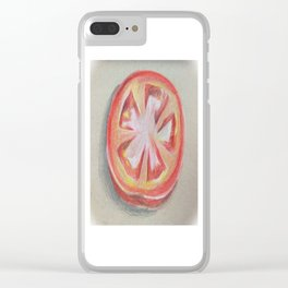 Slice of Life Clear iPhone Case