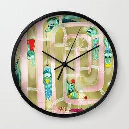 tadpoles Wall Clock