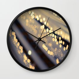 Second Star to the Right Wall Clock