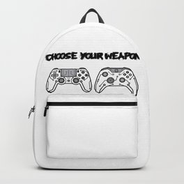 Choose your weapon Backpack