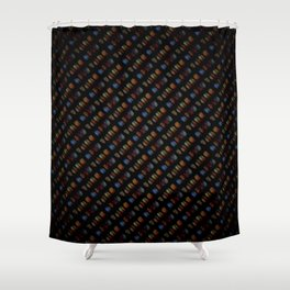 Curious Code Shower Curtain