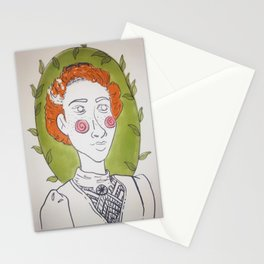 Carrots and leaves Stationery Cards