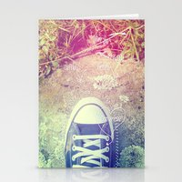 converse Stationery Cards featuring Converse by Jane Mathieu