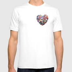 XOX MEDIUM Mens Fitted Tee White