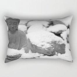 Buddha in Himalaya Rectangular Pillow