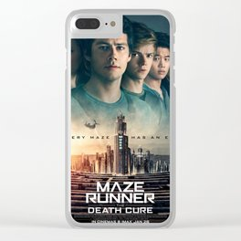 maze runner poster Clear iPhone Case