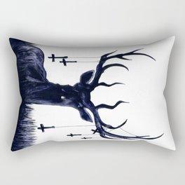 Destiny Waster Hits Nadir Rectangular Pillow