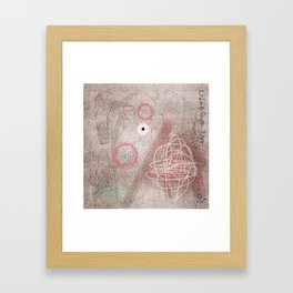 MANMADE SUBJECTS, INCLUDING A BOMBING Framed Art Print