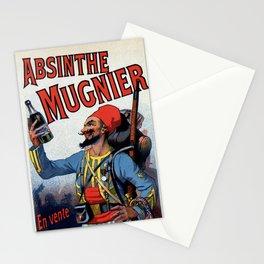 Absinthe Mugnier vertical banner Stationery Cards