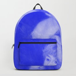 Japanese Porcelain Young Woman Braiding Her Hair Backpack