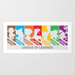 League of Legends Art Print