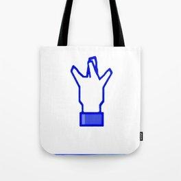 West Coast Hand Sign Social Media Tote Bag