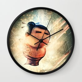 Rise of Sumo Wall Clock