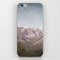 montana iPhone & iPod Skins featuring Montana Blues by CMcDonald