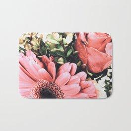 Pink Bouquet Bath Mat