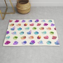 Jewel Snail - pastel Rug