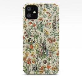 Adolphe Millot Vintage Fleurs Flower 1909 iPhone Case