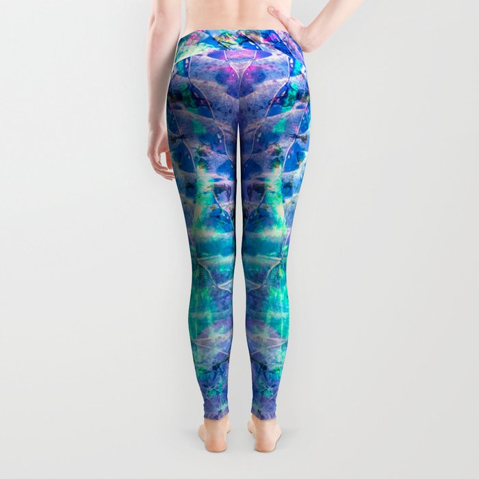 swirl and dots Leggings