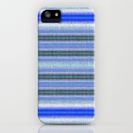Woven Blue iPhone Case