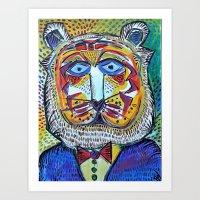 Mr. Tiger Art Print