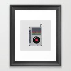 Music Mix Framed Art Print