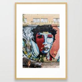 AFH 2018 Street Art 7 Framed Art Print