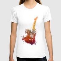 bass T-shirts featuring Bass Guitar by jbjart