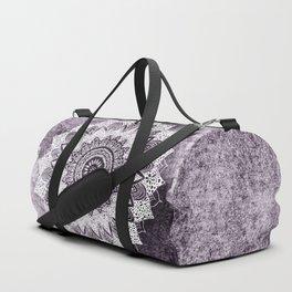 BOHOCHIC MANDALA IN PURPLE Duffle Bag