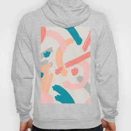 Abstraction. Series: Oil Paint Smears. Culinary fantasy. Dessert. Hoody