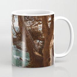 Big Sur Sunset at McWay Falls Coffee Mug