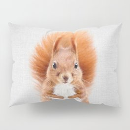 Squirrel 2 - Colorful Pillow Sham