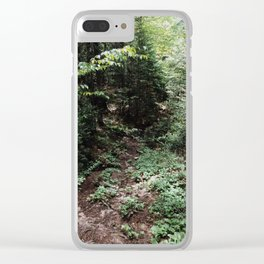 Johannsen II Clear iPhone Case