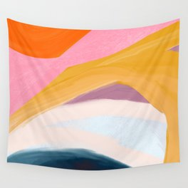Let Go - no.36 Shapes and Layers Wall Tapestry