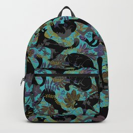 Black cats Backpack