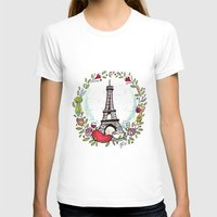 cooking T-shirts featuring French Cooking by Grace Anderson