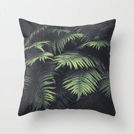 Beautiful Ferns Throw Pillow
