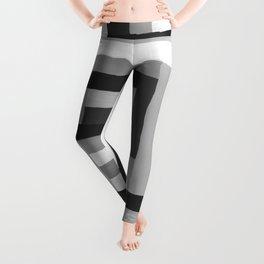 Painted Color Blocks Leggings