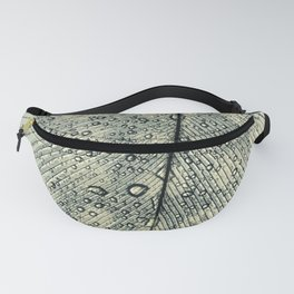 feather blue Fanny Pack