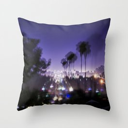 Chasing Light in Los Angeles Throw Pillow
