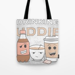 Drinking Buddies Tote Bag