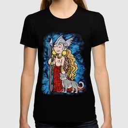 Goddess Freya T-shirt