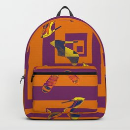 Every May's Colourful Nightmare - shoes stories Backpack