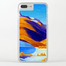 Rockwell Kent Vermont Study Clear iPhone Case
