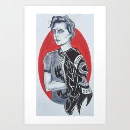 Jughead Jones // Riverdale Art Print
