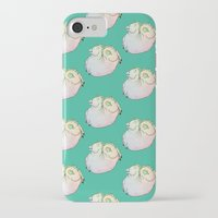 my mad fat diary iPhone & iPod Cases featuring Fat Unicorn by exeivier