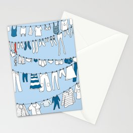 Laundry day Stationery Cards