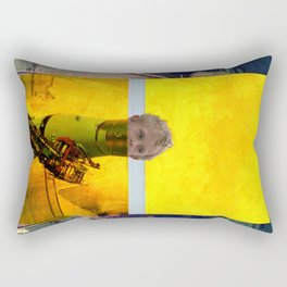 start the boy Rectangular Pillow