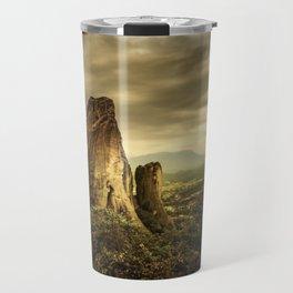 Meteora (Greek Landscape) Travel Mug
