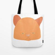 Pussy Laranja Tote Bag